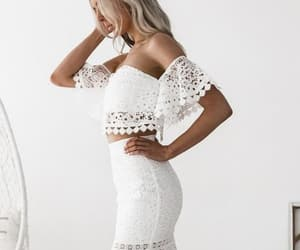 classy, fashion, and lace image