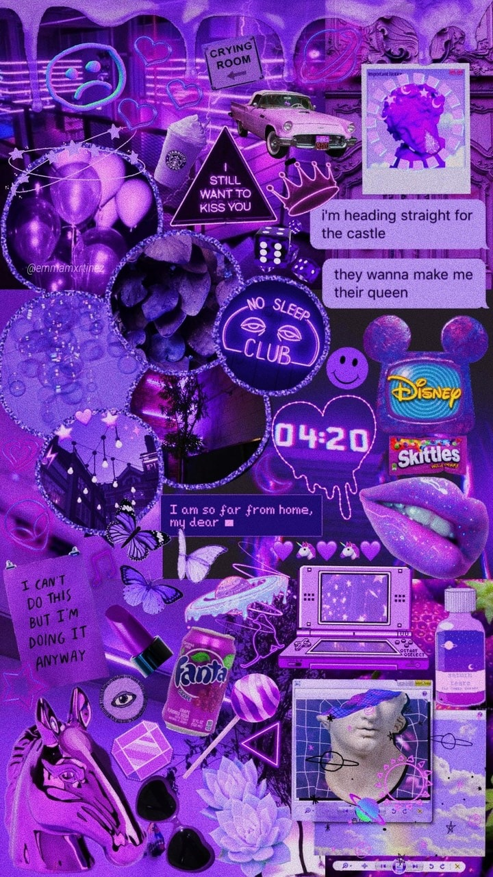 70 Images About Purple Aesthetic On We Heart It See More About Purple Aesthetic And Grunge