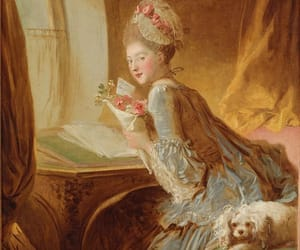 art, lady, and french image