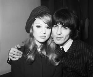 pattie boyd, 60s, and george harrison image
