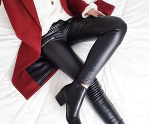 boots, style, and women image