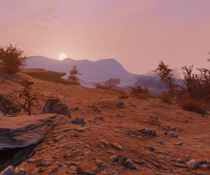 desolate, fallout, and pink image
