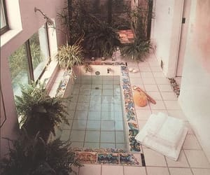 plants, aesthetic, and pool image