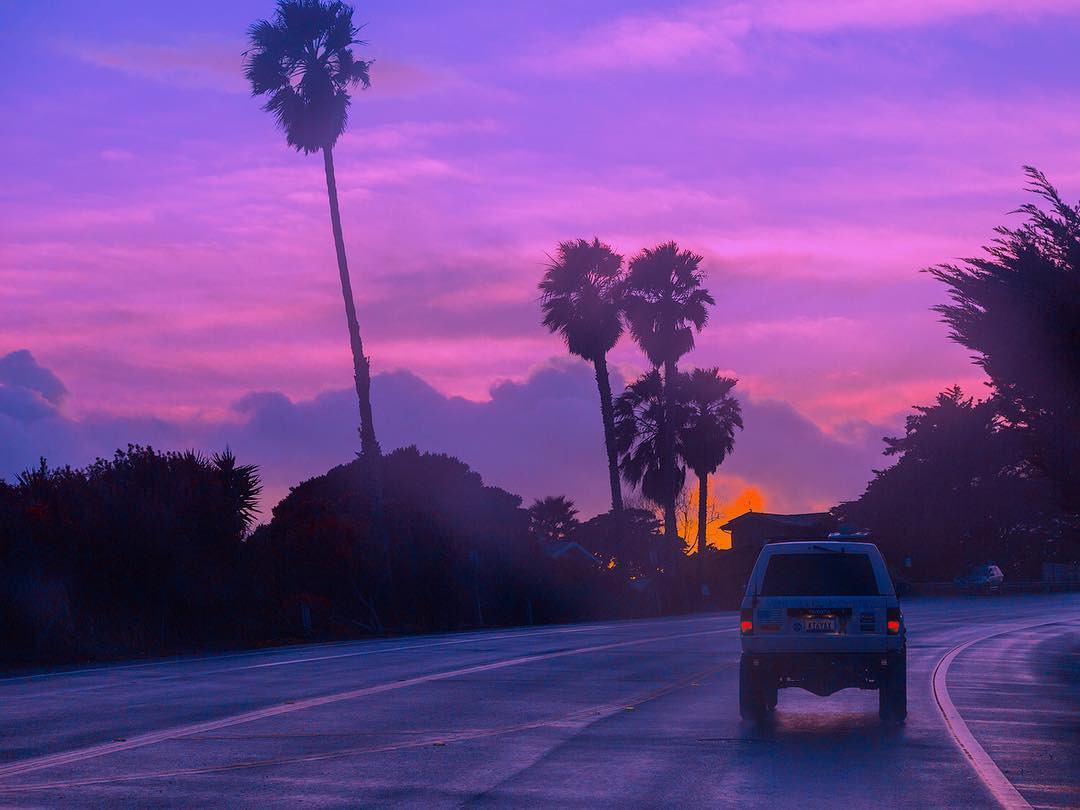 Purple Sunset In California Photography By Lilmisch Https Www Instagram Com P Bumbihpgbut Utm Source Ig Share Sheet Igshid 14y0omysk3s8s