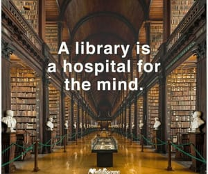book, mind, and library image