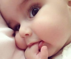 baby, sweet, and beauty image