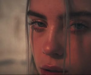 billie eilish, beautiful, and eyes image