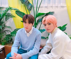jaehyun, taeyong, and idol image