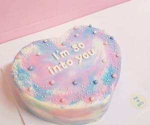 pastel, cake, and pink image