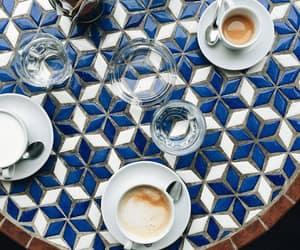 coffee, fashion, and vintage image