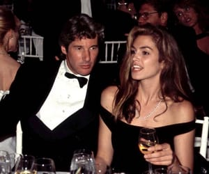 90s, richard gere, and cindy crawford image