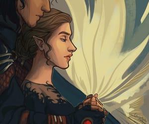 illustration, my art, and sarah j maas image