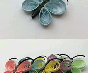 diy, origami, and quilling image