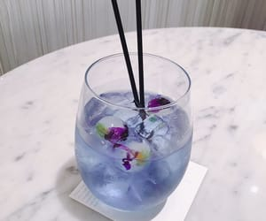drink, blue, and purple image