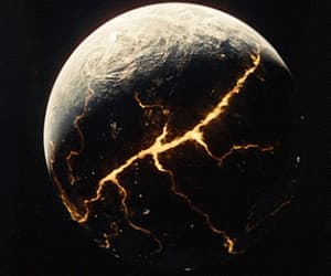 disaster, fire, and planet image