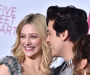 couple, lili reinhart, and cute image