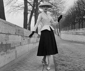 50s, black and white, and hat image