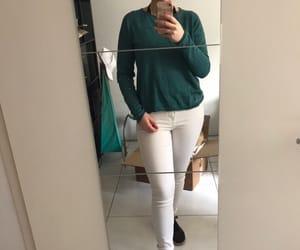 Blanc, green, and nike image