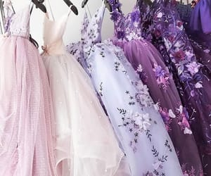 dress, fashion, and purple image