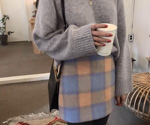 fashion, mini skirt, and oversized image