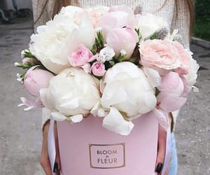 bouquet, floral, and roses image
