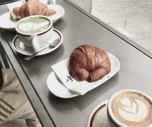 breakfast, coffe, and drinks image