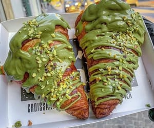 bakery, croissant, and delicious image