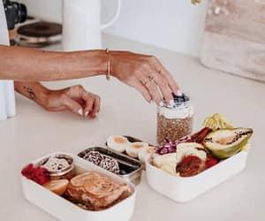 avocado, breakfast, and chia pudding image
