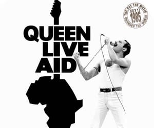 live, Queen, and モノクロ image