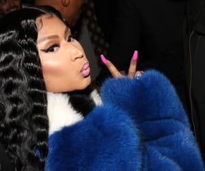 peace, reaction, and nicki minaj image