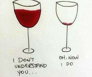 wine, red, and drunk image
