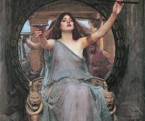 painting, circe, and art image