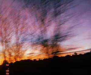beautiful, running, and sun set image