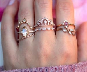 pink and rings image