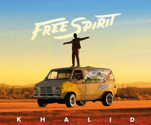 free spirit, music, and khalid image