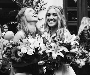 flowers, friendship, and glam image