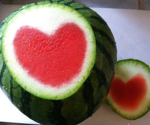 archive, heart, and watermelon image