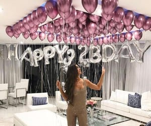 balloon, party, and surprise image