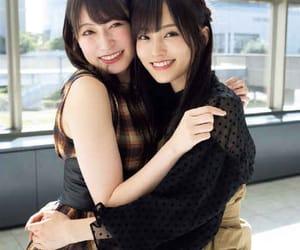 nmb48, yamamoto sayaka, and yoshida akari image