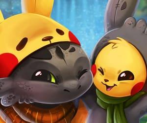 costume, kawaii, and pikachu image