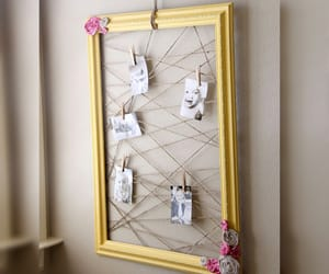 decorations, recycle, and picture frames image
