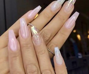 nails, fashion, and acrylic image