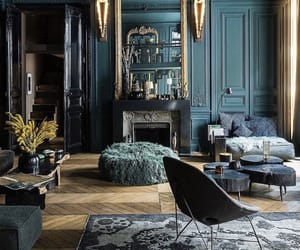blue, louvre, and luxury image