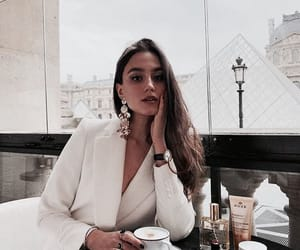 beauty, coffee, and fashion image