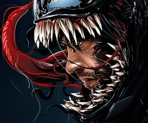 Marvel, symbiote, and venom image