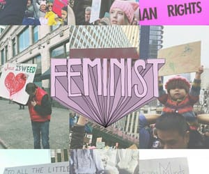 feminist and wallpaper image