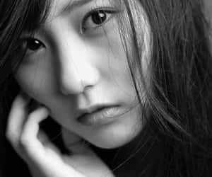 black and white, photography, and hkt48 image