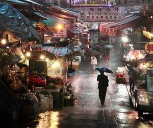 rain, photography, and hong kong image