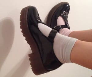 cute shoes, socks, and legs image