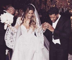 bride, celebs, and ciara image